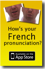 Utter French! Pronunciation app for iPhone